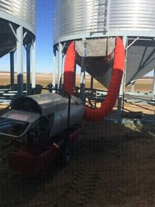 Grain drying  Construction Heaters