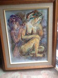 Hortense Gordon Oil Painting