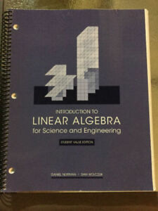 RYERSON FIRST YEAR ENGINEERING TEXTBOOKS-CALCULUS/LINEAR/PHYSICS
