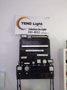 High quality LED bars & Work lights & security lights for sale!!