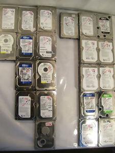 """80GB - 3.0TB Desktop Hard Disk Drive - Disque Dur SATA 3.5"""" HDD"""