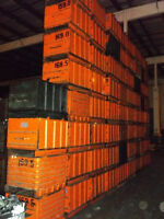 """Steel Corrugated Bins Totes Containers 26"""" x 31"""" x 23"""" o/h #419"""