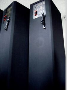 nuance Grand Universe Powered Tower Speakers