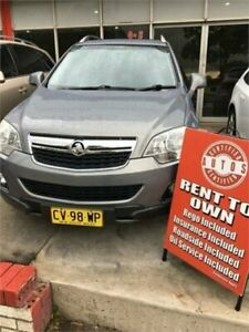 2012 Holden Captiva CG Series II 5 (4x4) Grey 6 Speed Automatic Wagon Liverpool Liverpool Area Preview