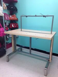REDUCED!!!! Display With shelves and hooks Windsor Region Ontario image 1
