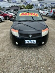 2007 Proton Savvy BT Black 4 Speed Automatic Hatchback Morwell Latrobe Valley Preview