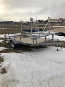 12 BY 6 UTILITY TRAILER WITH RAMP