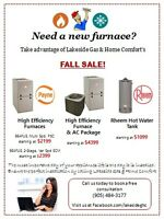 Fall Furnace SALE!