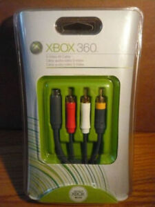 Xbox 360 S video cable (Brand New)