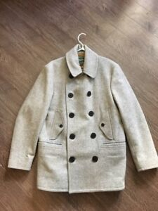 Real Woolrich P-Coat/Men's Coat.  MED/LG   **GREAT CONDITION**