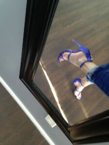 NEW  SEXY BLUE HEELS SIZE 8.5