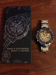 Men's Mechanical, Skeleton Dial Watch! Brand New Condition!