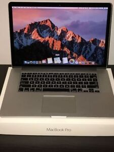 "MacBook Pro 15"" Mid-2015 i7/16GB/256SSD - Applecare Février 2017"