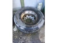 Truck parts tyres rims tank scania volvo lorry