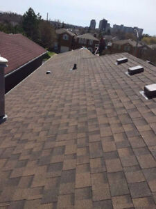 Flat Roof,Shingles Eavetrough, Soffit, Siding. Capping Mr Tony