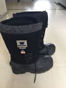 Workload Thinsulate Winter Safety Boot Size 12
