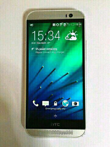 UNLOCKED MINT HTC-M8-ACCESSORIES ONLY $175