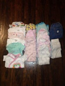 Large Collection of Nearly New 0-3 month girls clothes