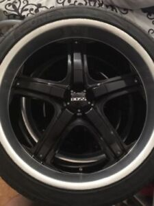 """22"""" inch authentic summer rims wheels tires"""