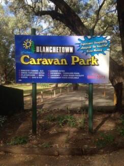 Caravan Semi Permanent Site available at Blanchetown Caravan Park Blanchetown Mid Murray Preview