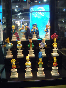 Simpsons statues bust sideshow