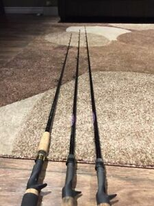 Fishing Rods & Reels (Lews, Shimano, St Croix)