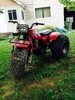 Looking for a honda 3 wheeler frame with tires185cc or200ccframe