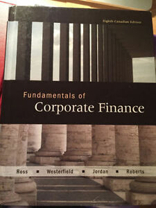 Ross fundamentals of corporative finance