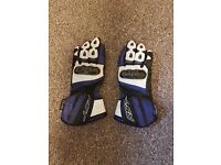 2 Pairs of Leather RST Motorcycle gloves