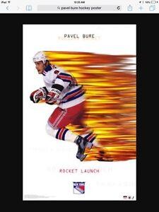 Mid 90s hockey posters