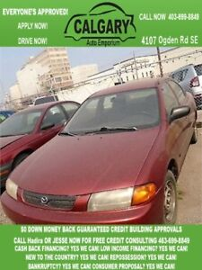 1998 Mazda Protege LX * $99 DOWN EVERYONE APPROVED*