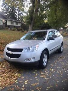 2012 Chev Traverse fwd **Inspected ** WE Finanace**