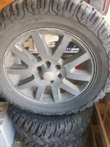 Ford F150 R20 rims, tires and spacers