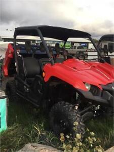 PRICED TO GO! 2017 YAMAHA VIKING EPS! BRAND NEW!