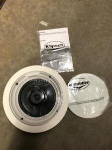 "Klipsch R1650C 6.5"" In-Ceiling Speaker - Single (USED)"