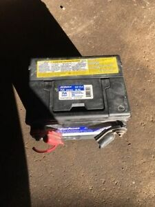 """Side post battery AC Delco W 9""""x D 6.5"""" x H 7"""""""