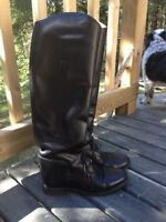 English riding field boots