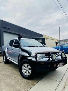 2014 Mitsubishi Triton MN MY15 GLX Double Cab Grey 5 Speed Manual Utility Moorooka Brisbane South West Preview