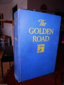 L.M. MONTGOMERY Rare FIRST CANADIAN Ed 1944 GOLDEN ROAD OBO