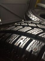 4 LT235/75R15 Arctic Claw Studded Winter Tires