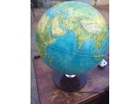 Light up globe pre 1970s