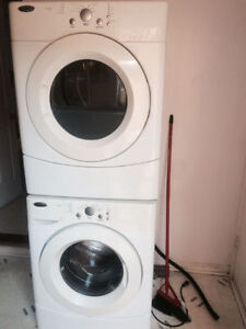 Only 3 years old Amana front load washer and dryer for sale