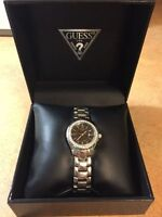 Authentic Guess Watch w/ Crystal Accents