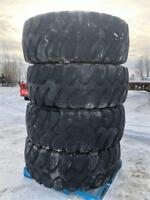 Impossible to find Set of 4 Tires 20.5 R 25 radials Edmonton Edmonton Area Preview