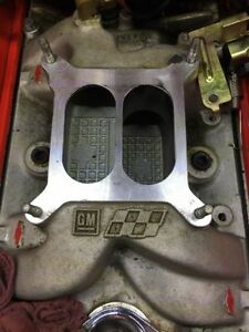 GM Performance.Chev intake for Vortech Heads SBC(avail may 1)