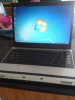 Toshiba laptop Windows 7