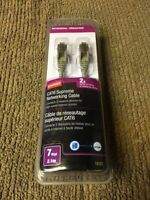 7 foot cat 6 cable new in box (network cable)