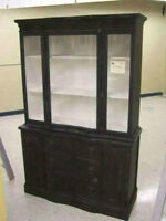 Antique china cabinet display