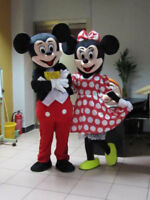 Location mascotte Mickey ou Minnie 35$/jour
