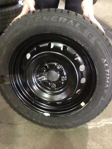 205/55/R16 Winter tires and rims! Barely used, must go!